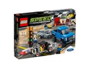 lego 75875 ford f 150 raptor og ford model a hotrod