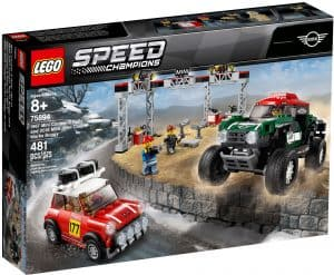 lego 75894 1967 mini cooper s rally og 2018 mini john cooper works buggy