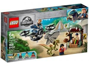 lego 75934 undsluppet dilophosaurus
