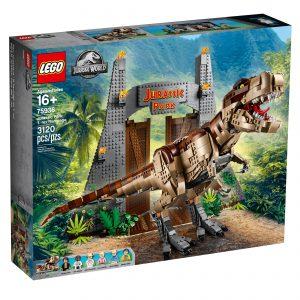 lego 75936 jurassic park t rex ravage