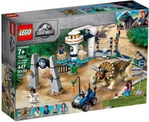 lego 75937 triceratops ravage