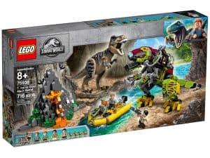 lego 75938 dinokamp t rex mod dinosaurrobot