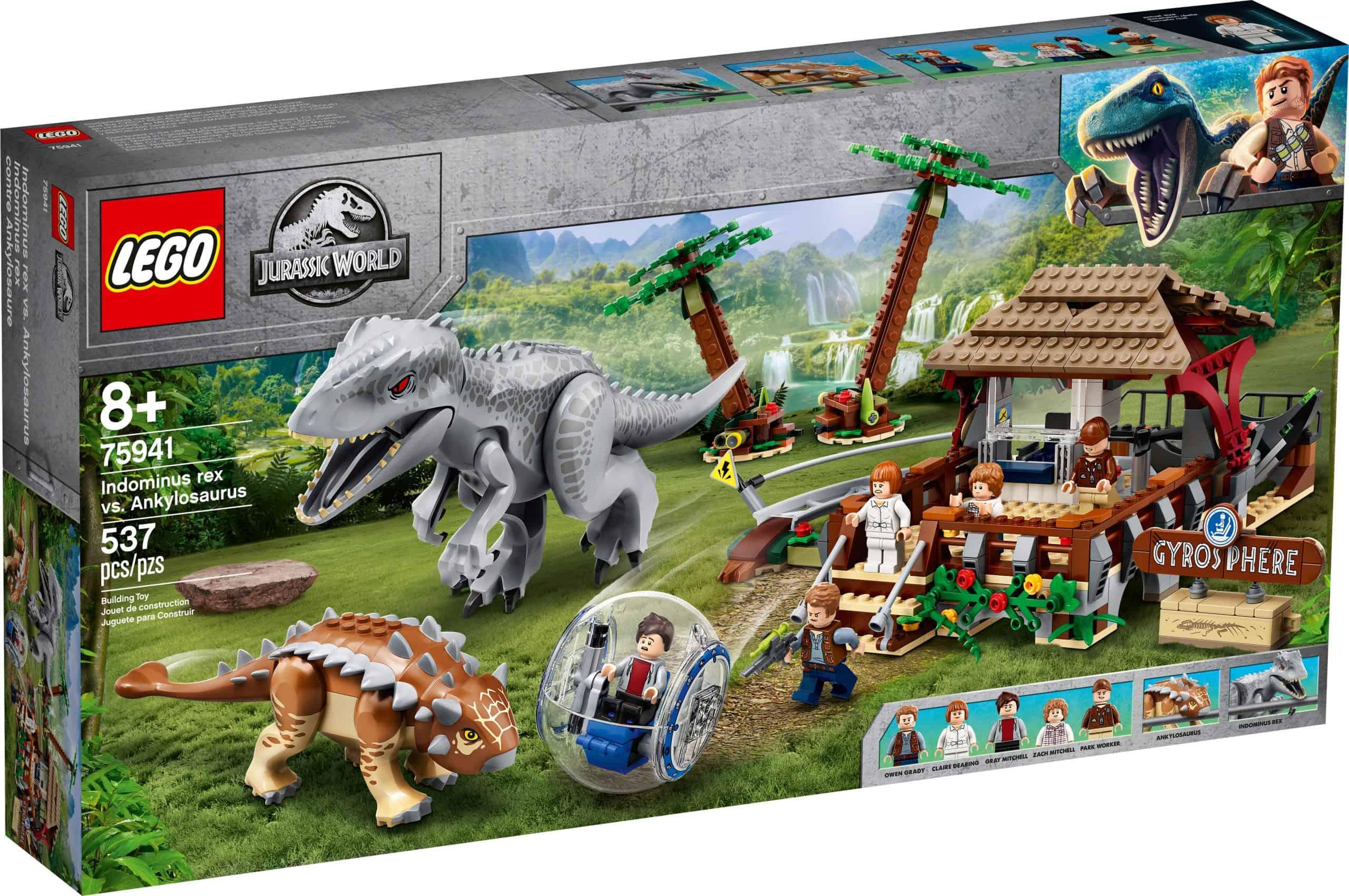lego 75941 indominus rex mod ankylosaurus scaled