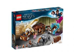 lego 75952 newts kuffert med magiske vaesner