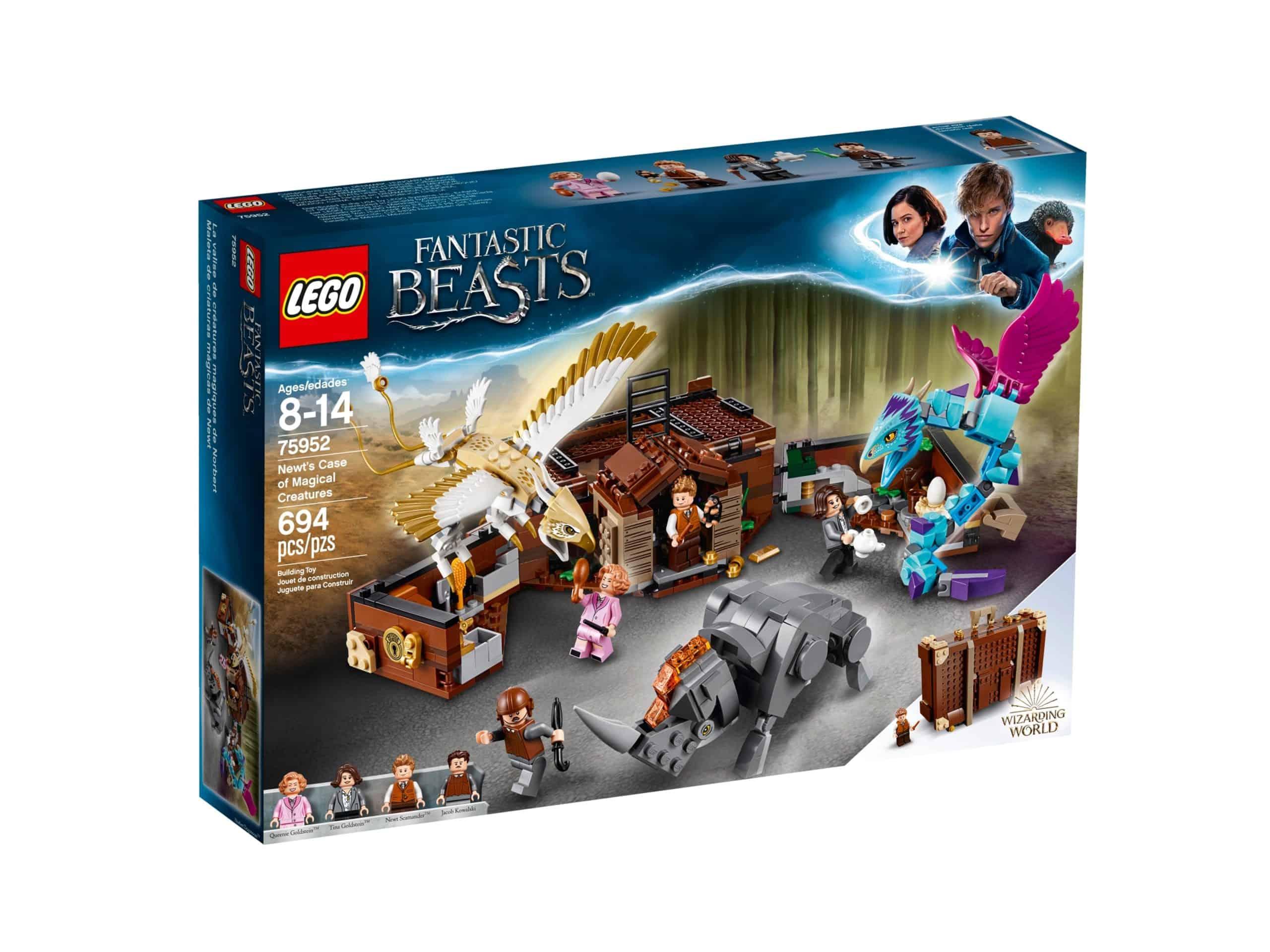 lego 75952 newts kuffert med magiske vaesner scaled