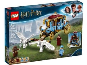 lego 75958 beauxbatons karet ankomst til hogwarts