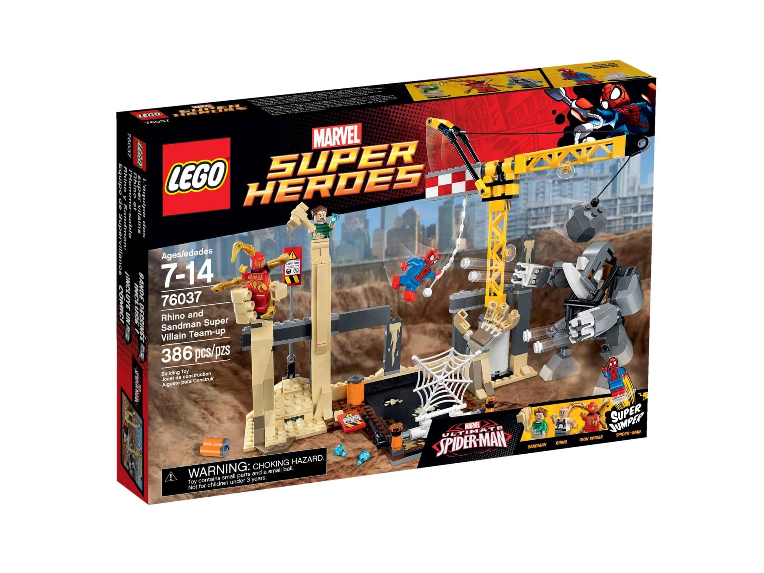lego 76037 rhino og sandmans superskurkeangreb scaled