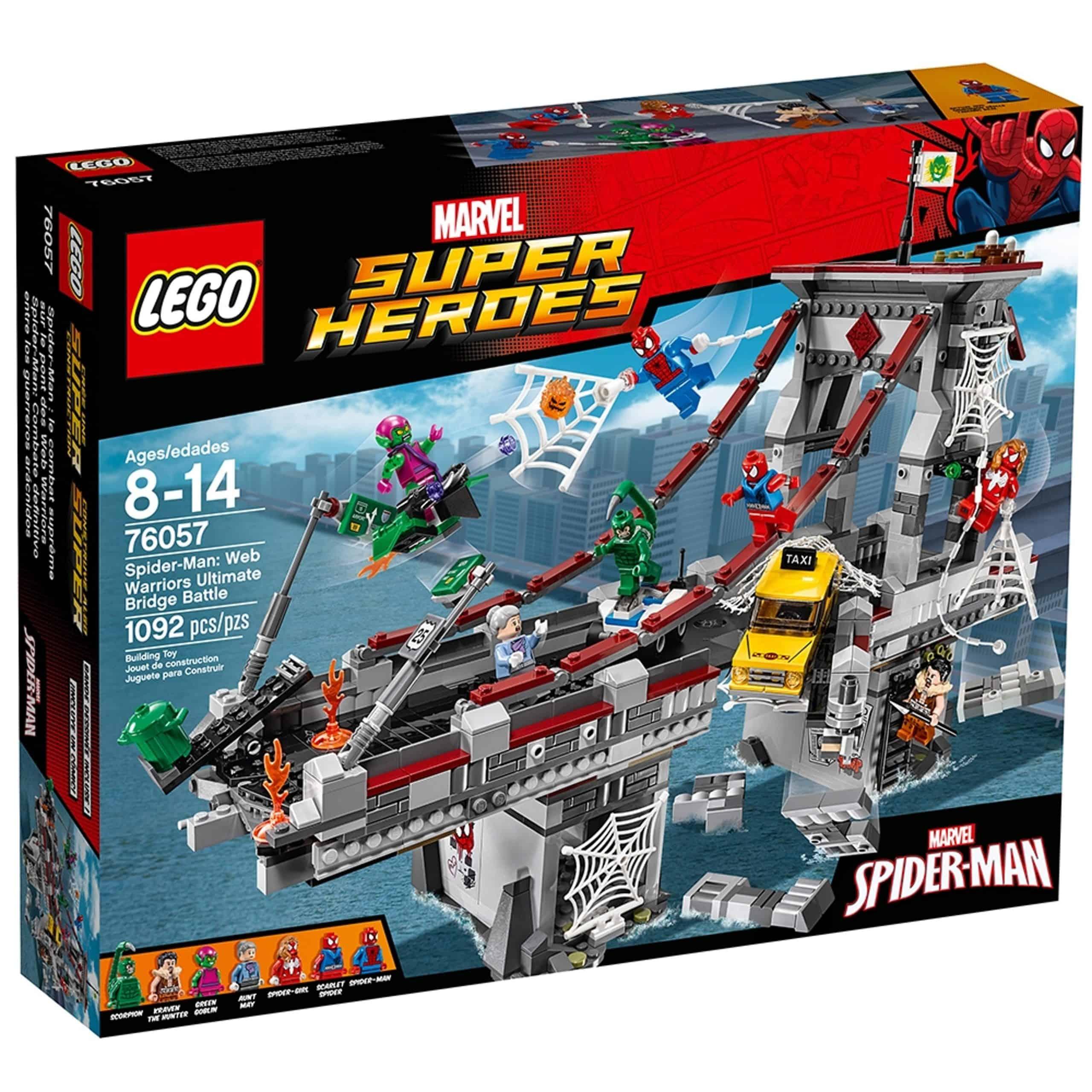 lego 76057 spider man edderkoppekrigernes ultimative kamp pa broen scaled