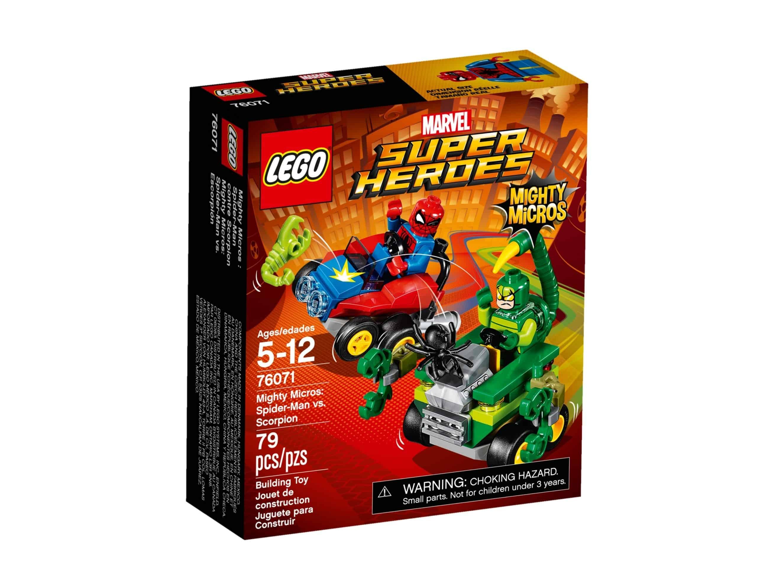 lego 76071 mighty micros spider man mod scorpion scaled