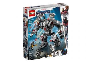 lego 76124 war machine kamprobot