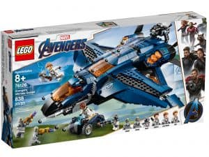 lego 76126 avengers ultimative quinjet