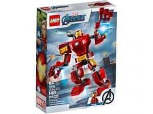 lego 76140 iron man robot