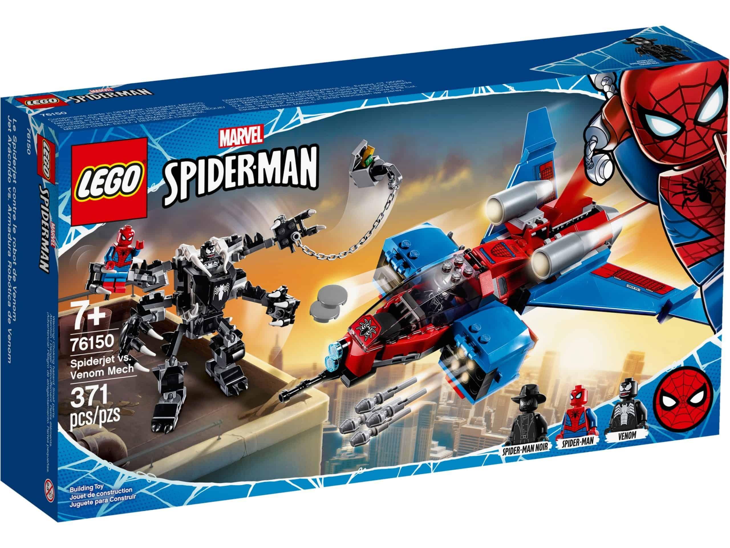lego 76150 spiderjet mod venom robot scaled