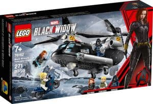 lego 76162 black widows helikopterjagt