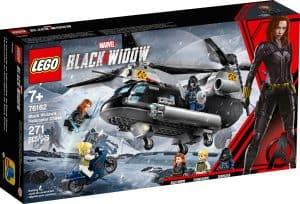 lego 76162 black widows helikopterjagt