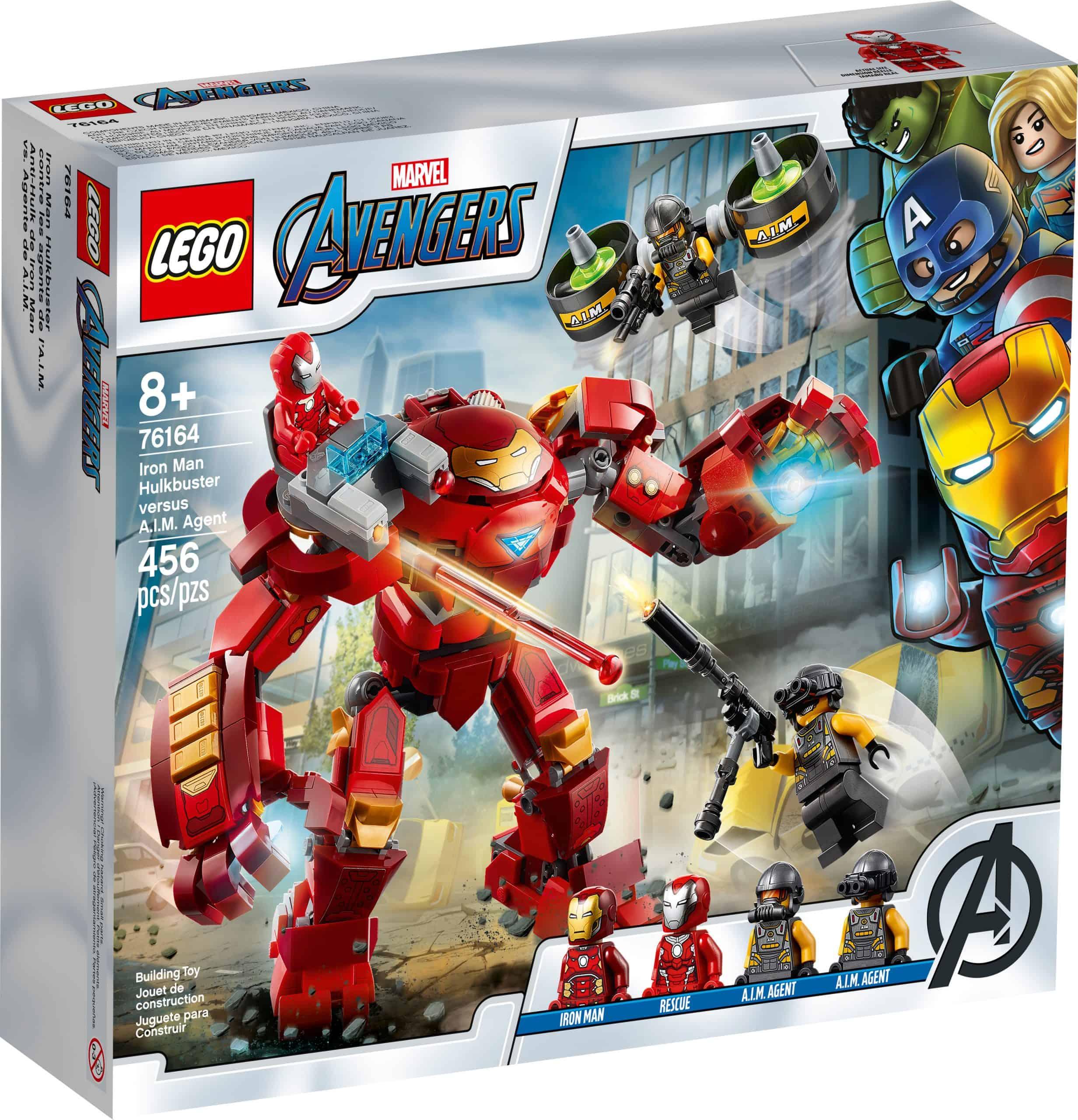 lego 76164 iron mans hulk kamprobot mod a i m agent scaled