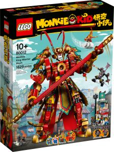 lego 80012 monkey kings krigerrobot