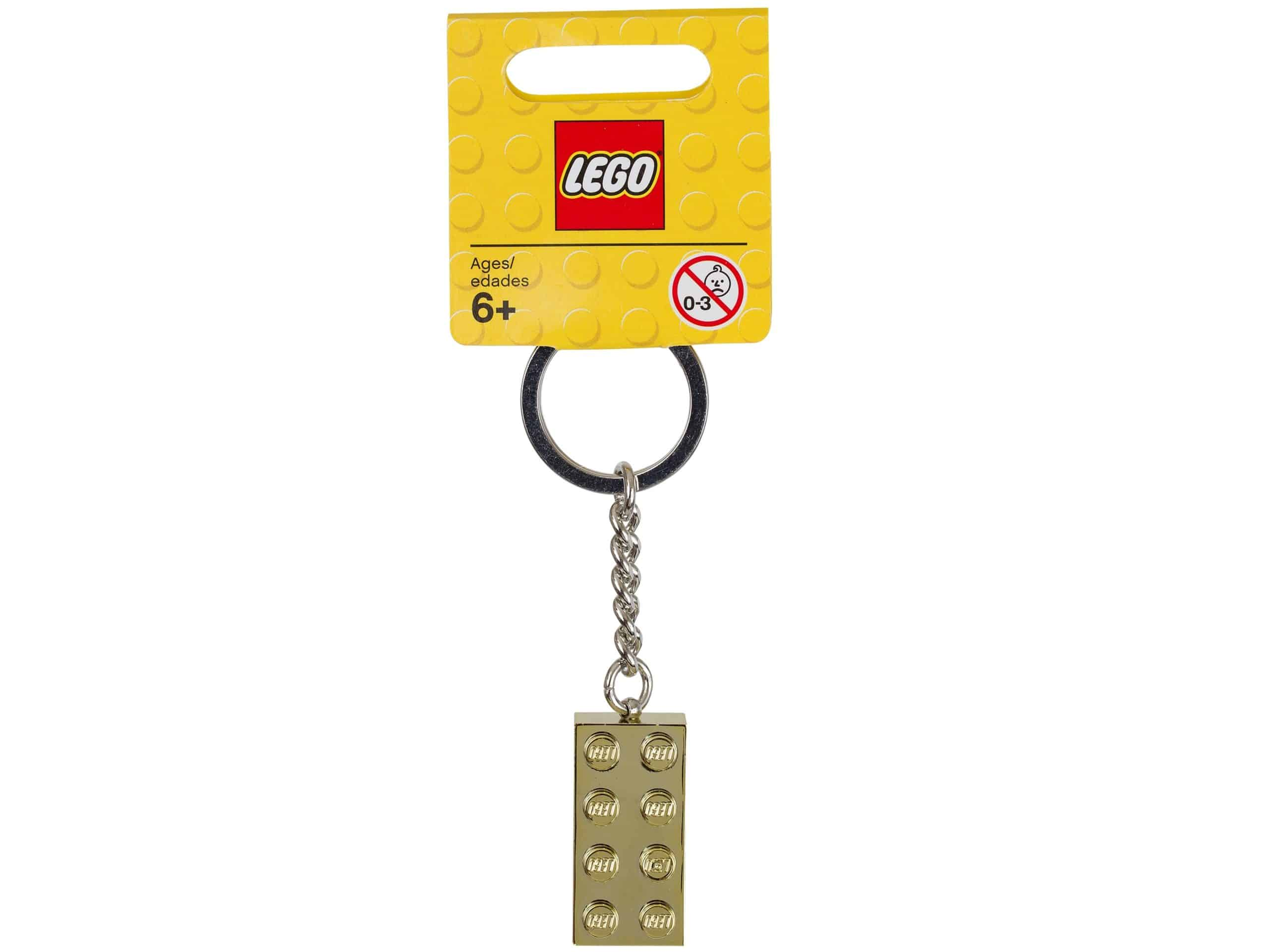 lego 850808 keychain 2x4 stud gold scaled