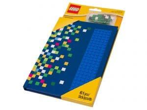 notesbog med lego 853569 knopper