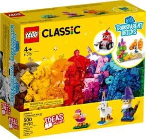 lego 11013 kreative gennemsigtige klodser
