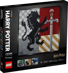 lego 31201 harry potter hogwarts vabenskjolde