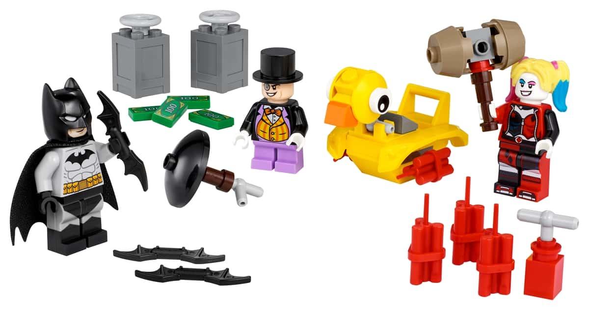 lego 40453 batman mod pingvinen og harley quinn