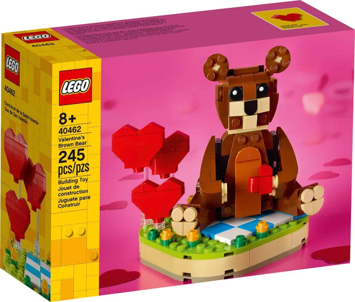 lego 40462 brun valentinsbjorn