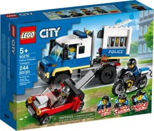 lego 60276 politiets fangetransport