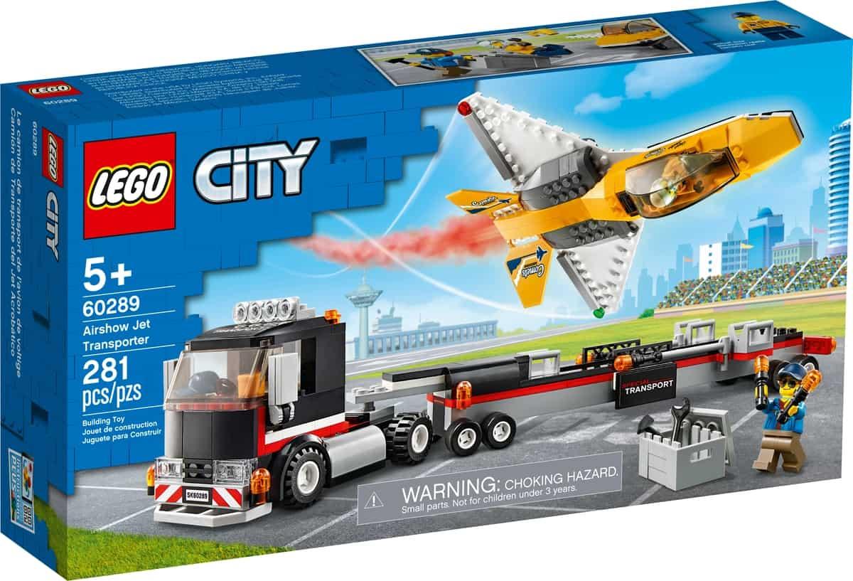 lego 60289 luftshowjet transporter