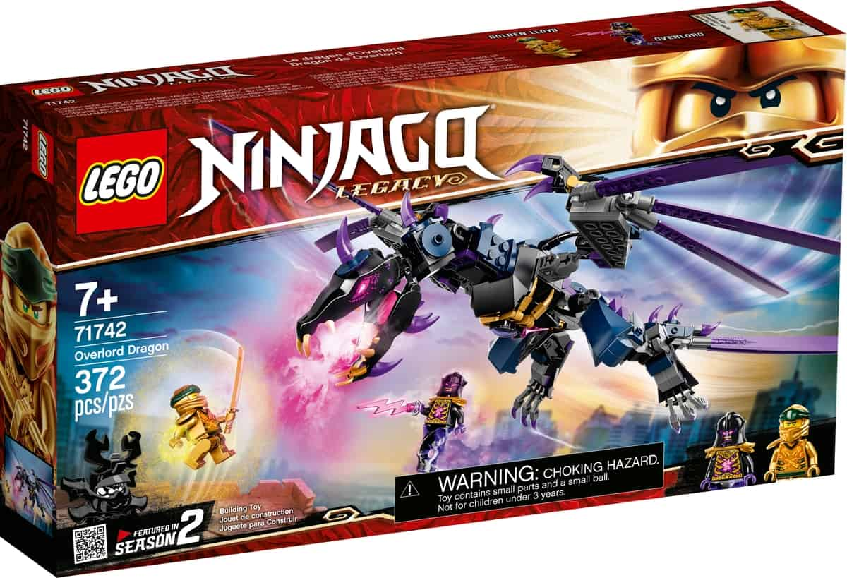 lego 71742 overlords drage