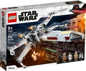lego 75301 luke skywalkers x wing jager