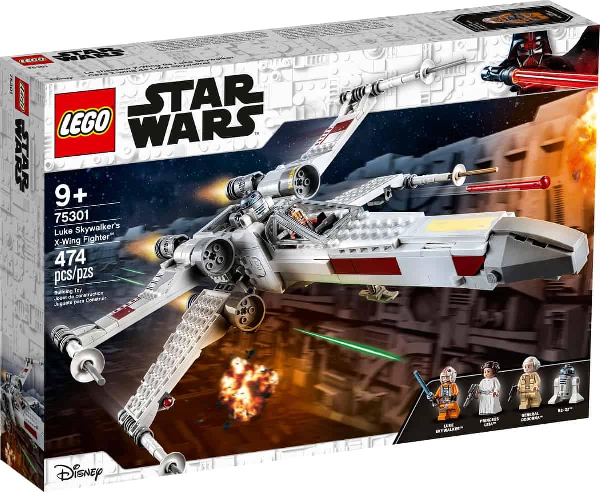 lego 75301 luke skywalkers x wing jager