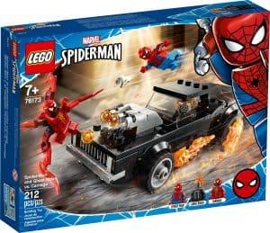 lego 76173 spider man og ghost rider mod carnage