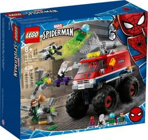 lego 76174 spider mans monstertruck mod mysterio