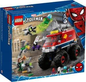 lego 76174 spider mans monstertruck mod mysterio
