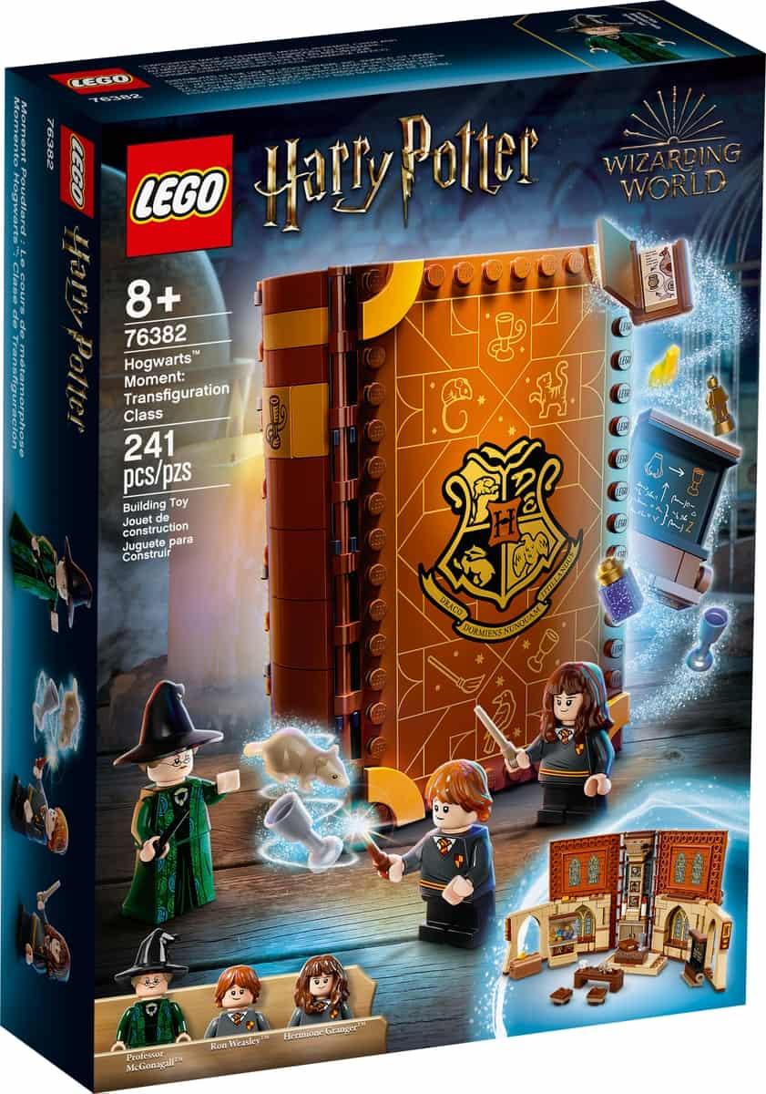lego 76382 hogwarts scene forvandlingslektion