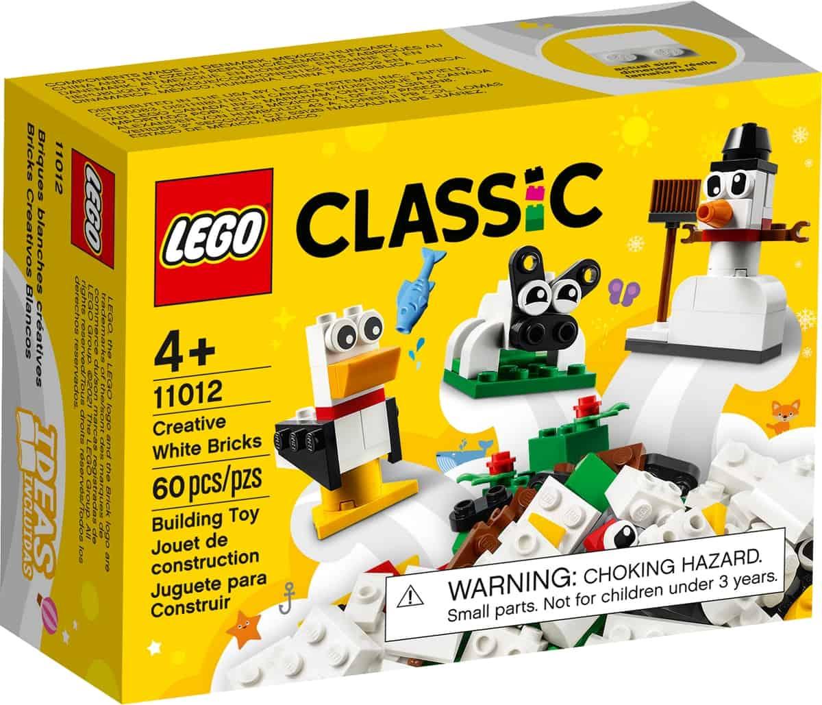 lego 11012 kreative hvide klodser