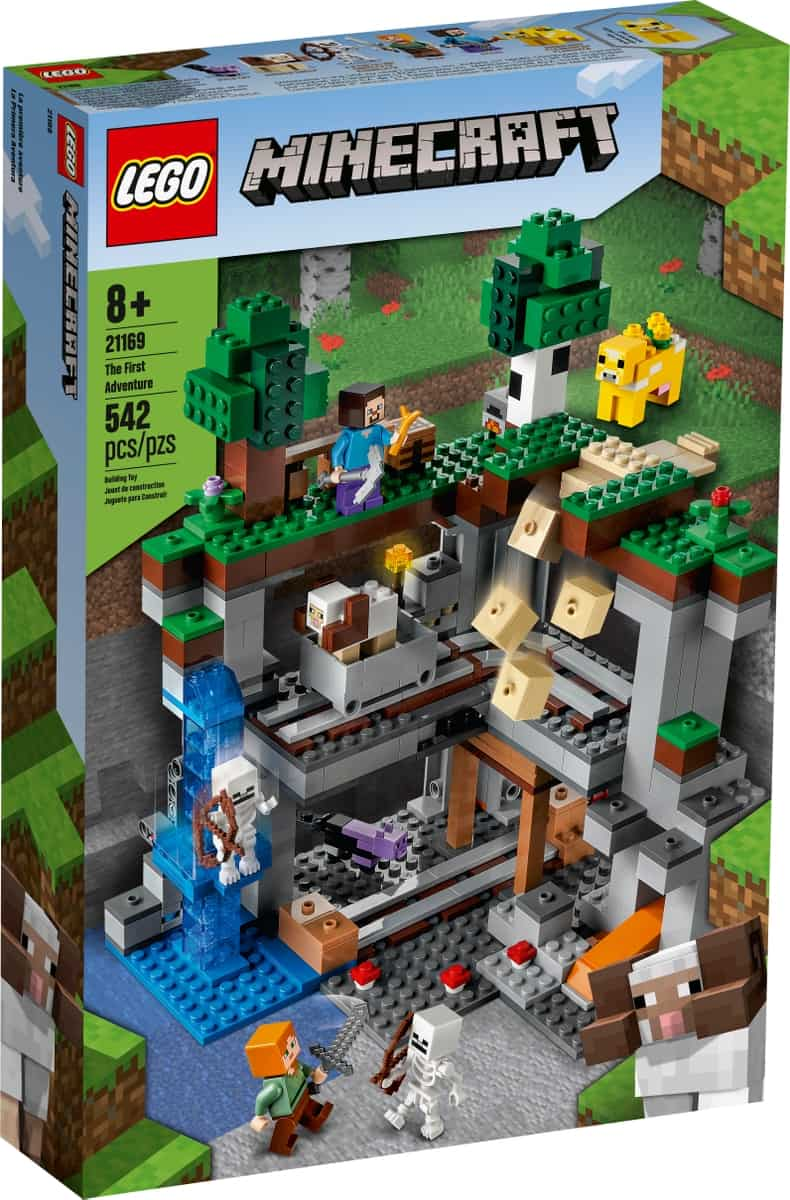 lego 21169 det forste eventyr