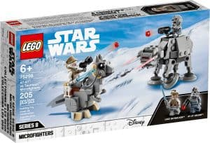 lego 75298 at at mod tauntaun microfighters