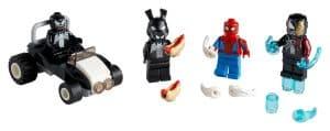 lego 40454 spider man mod venom og iron venom