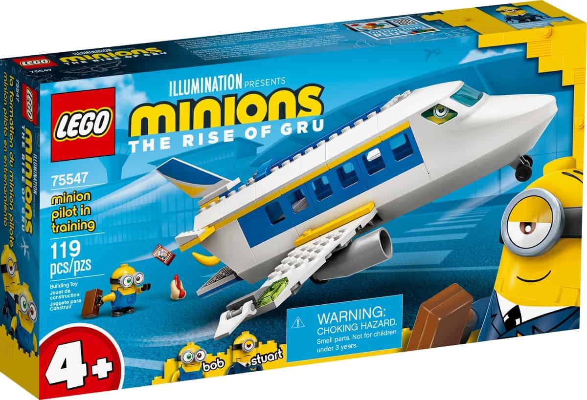 lego 75547 minion pilotelev