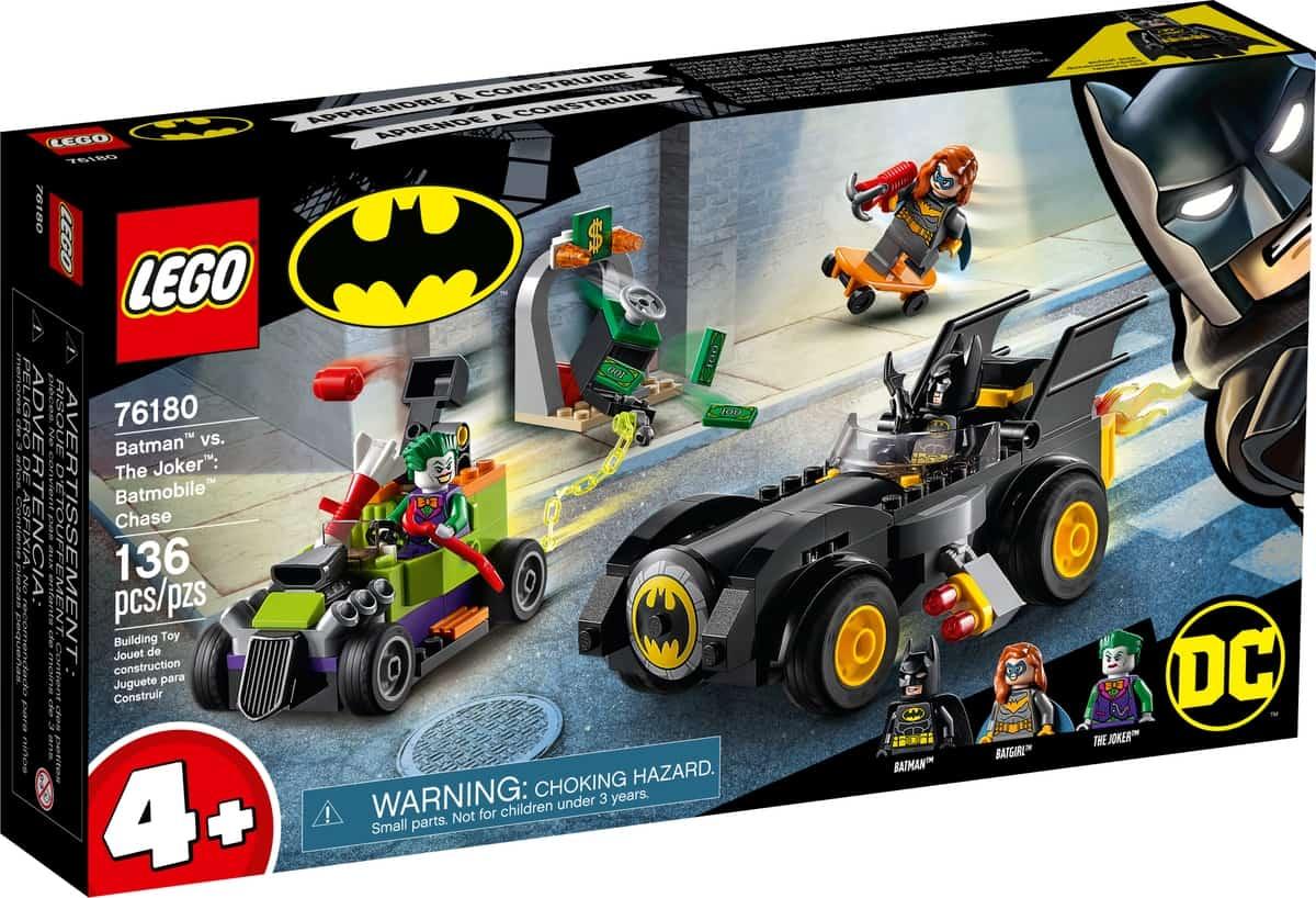 lego 76180 batman mod jokeren batmobile jagt