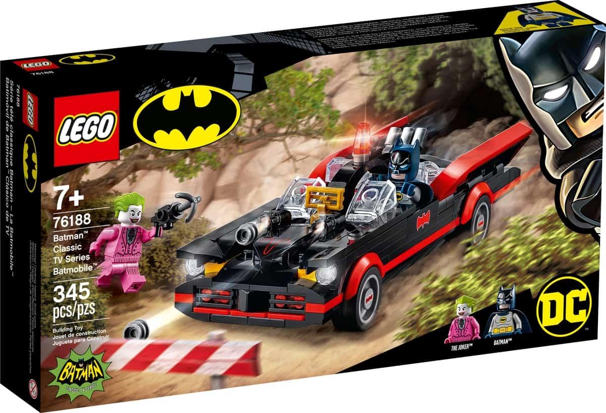 lego 76188 batmobile fra klassisk batman tv serie