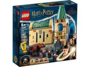 lego 76387 hogwarts modet med fluffy