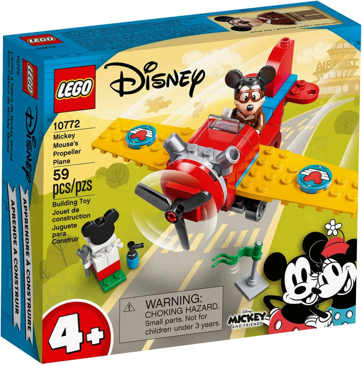 lego 10772 mickey mouses propelfly