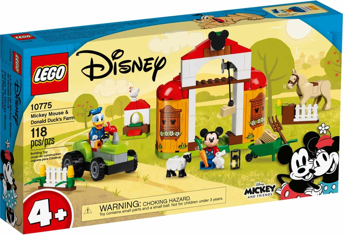 lego 10775 mickey mouse og anders ands bondegard