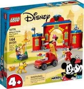 lego 10776 mickey og venners brandstation og brandbil