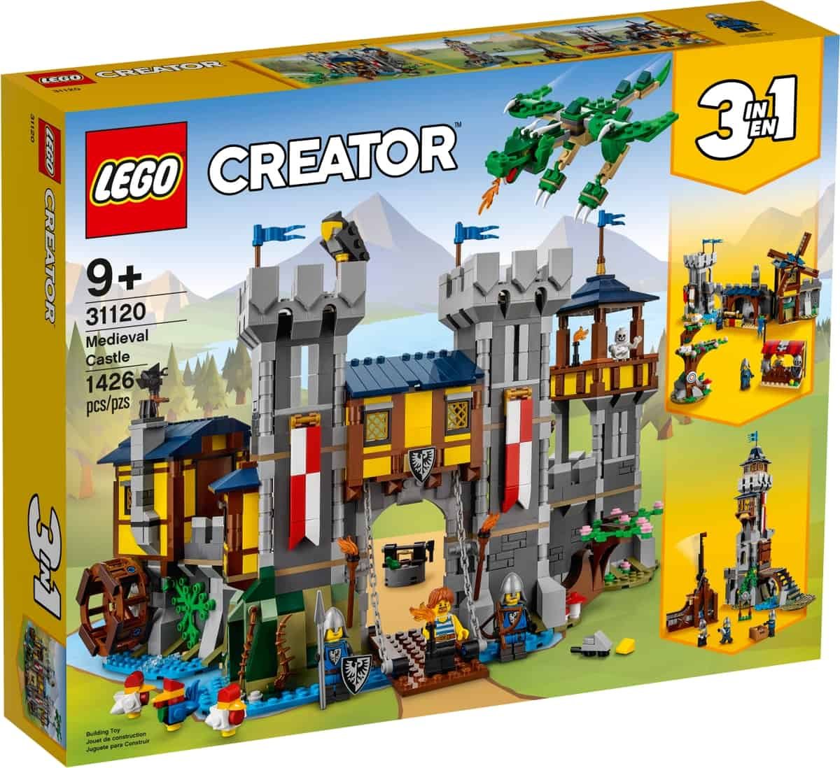 lego 31120 middelalderborg