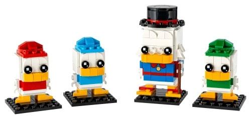 LEGO 40477 Dagobert Duck, Rip, Rap og Rup - 20210503