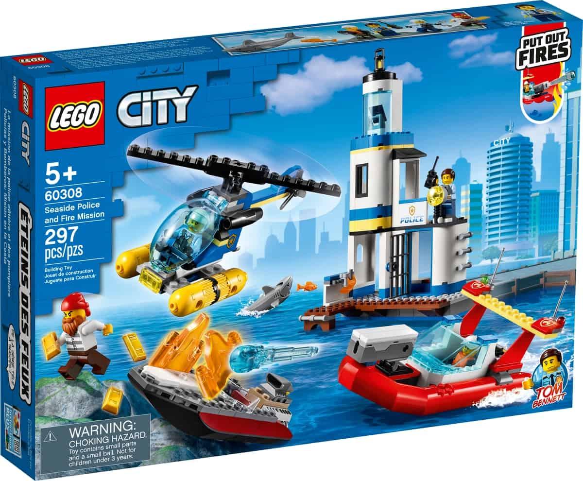 lego 60308 kystpoliti og brandvaesenmission